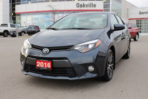 Pre-Owned 2016 Toyota Corolla LE w/ Bluetooth & Backup Camera FWD 4dr Car