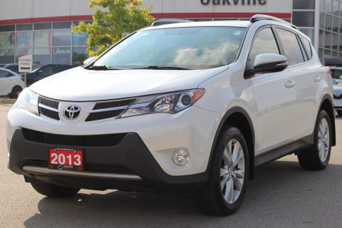 Pre-Owned 2013 Toyota RAV4 Limited with Satellite Radio and Navigation AWD