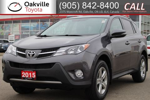Certified Pre-Owned 2015 Toyota RAV4 XLE with Single Owner and Full Set of Winter Tires AWD