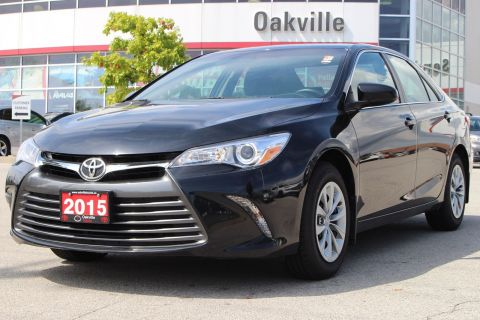 Certified Pre-Owned 2015 Toyota Camry LE with Rearview Camera