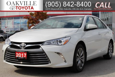 Certified Pre-Owned 2017 Toyota Camry XLE with Clean Carfax and Good Tires and Brakes FWD 4dr Car