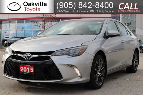 Certified Pre-Owned 2015 Toyota Camry XSE with Clean Carfax and Full Toyota Service History FWD 4dr Car