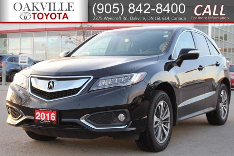Pre-Owned 2016 Acura RDX Elite Pkg with Parking Sensor and Lane Departure AWD