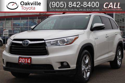 Certified Pre-Owned 2014 Toyota Highlander Hybrid Limited AWD with Single Owner