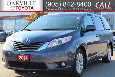 Certified Pre-Owned 2014 Toyota Sienna XLE with All Wheel Drive AWD