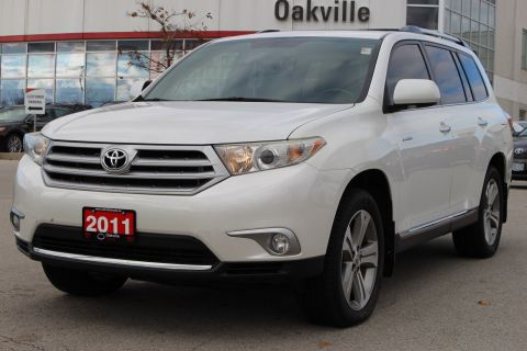 Certified Pre-Owned 2011 Toyota Highlander Limited