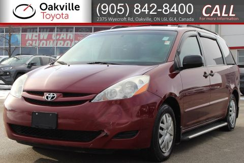 Pre-Owned 2007 Toyota Sienna CE with Clean Carfax | SELF CERTIFY