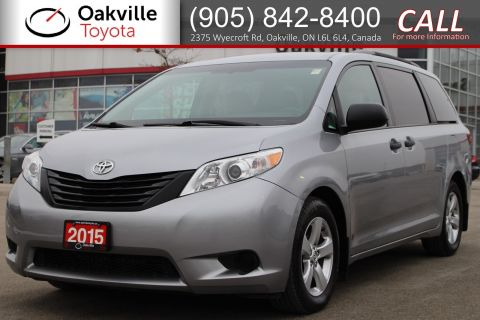 Certified Pre-Owned 2015 Toyota Sienna 7-Pass FWD with Single Owner