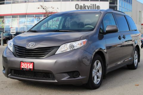 Pre-Owned 2014 Toyota Sienna CE Automatic with Clean CarProof