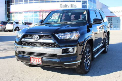 Pre-Owned 2015 Toyota 4Runner Limited w/Navigation & Leather 4WD