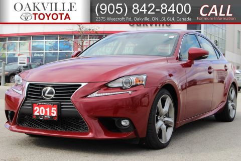 Pre-Owned 2015 Lexus IS 350 with Blind-Spot Monitor and Rearview Camera AWD