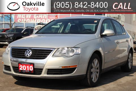 Pre-Owned 2010 Volkswagen Passat Sedan Comfortline with Clean Carfax | SELF CERTIFY