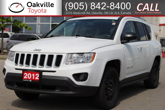 Pre-Owned 2012 Jeep Compass Limited with Low Kilometres