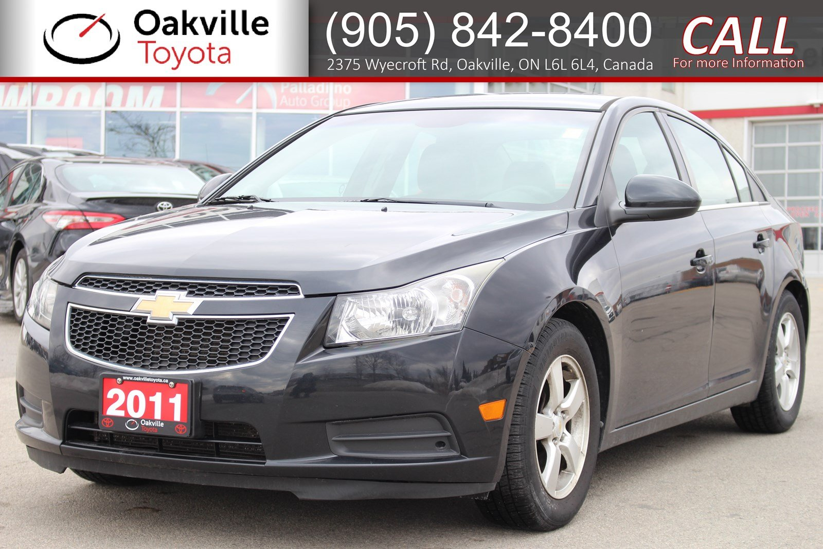 Pre-Owned 2011 Chevrolet Cruze LT Turbo+ w/1SB with Clean Carfax | SELF CERTIFY
