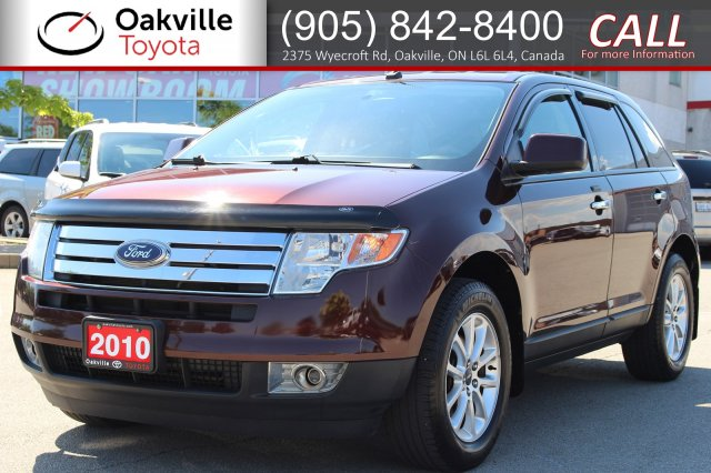 Pre-Owned 2010 Ford Edge SEL | SELF CERTIFY
