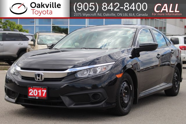 Pre-Owned 2017 Honda Civic Sedan EX with Clean Carfax and One Owner
