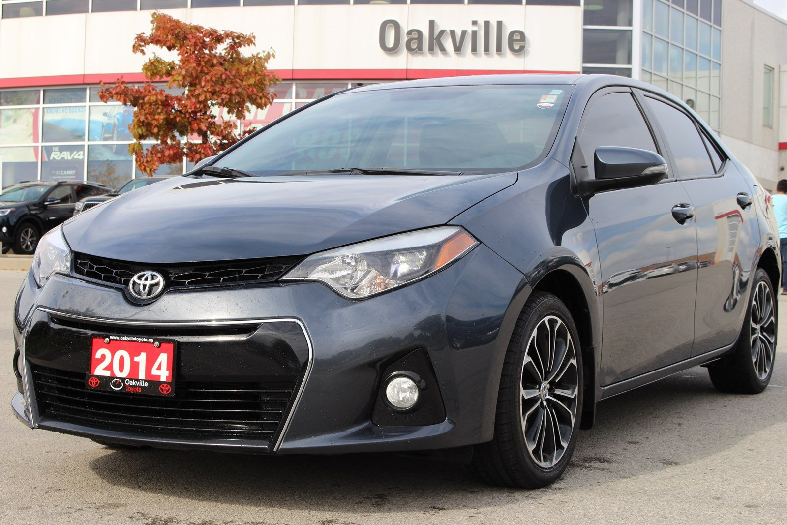 Nice Pre Owned 2014 Toyota Corolla S With Rearview Camera
