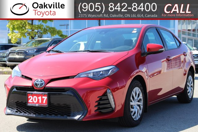 Certified Pre-Owned 2017 Toyota Corolla SE with Clean Carfax and One Owner