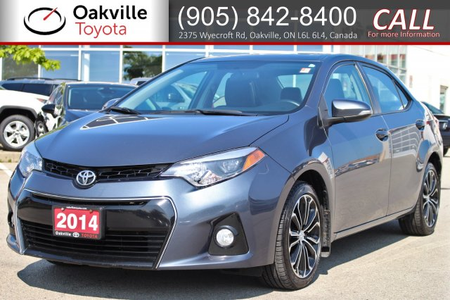 Certified Pre Owned 2014 Toyota Corolla S With Clean Carfax And One