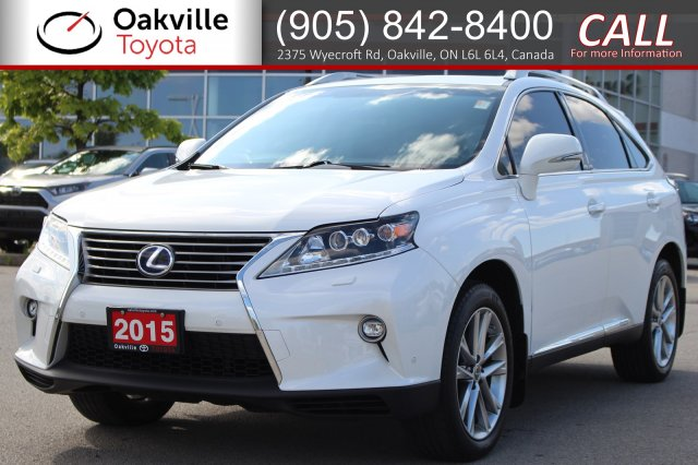 Pre-Owned 2015 Lexus RX 450h Hybrid AWD with Clean Carfax and One Owner