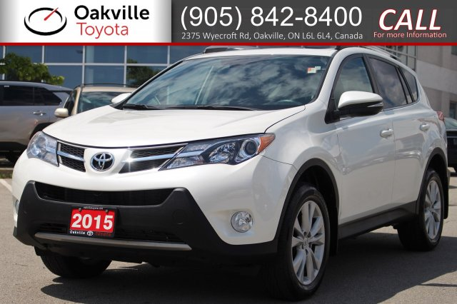Pre-Owned 2015 Toyota RAV4 Limited AWD with One Owner