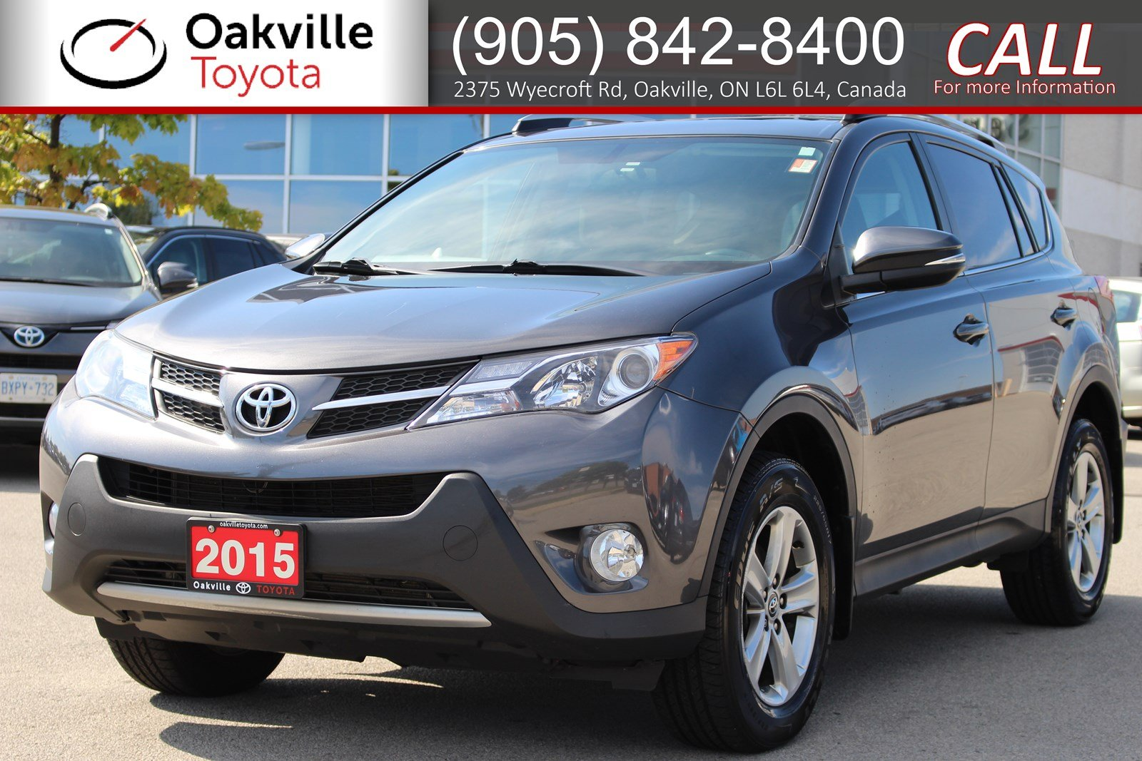 Pre-Owned 2015 Toyota RAV4 XLE AWD with Clean Carfax and One Owner
