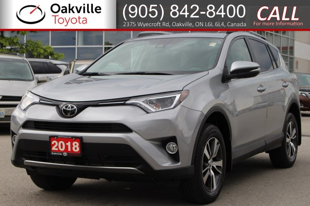 Pre-Owned 2018 Toyota RAV4 XLE with Clean Carfax and One Owner