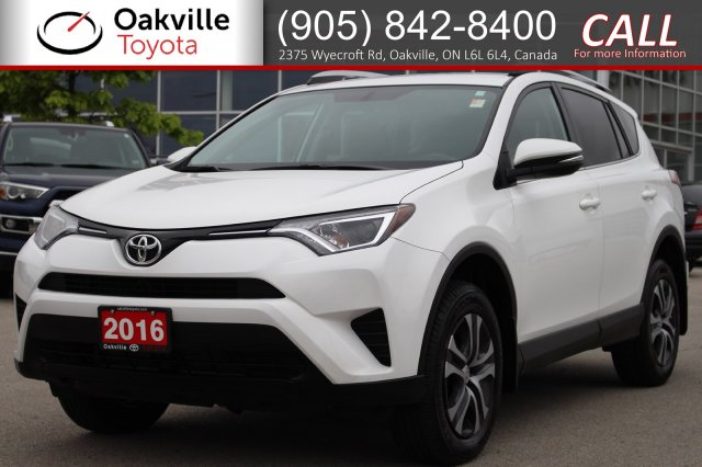 Certified Pre-Owned 2016 Toyota RAV4 LE with Clean Carfax and One Owner