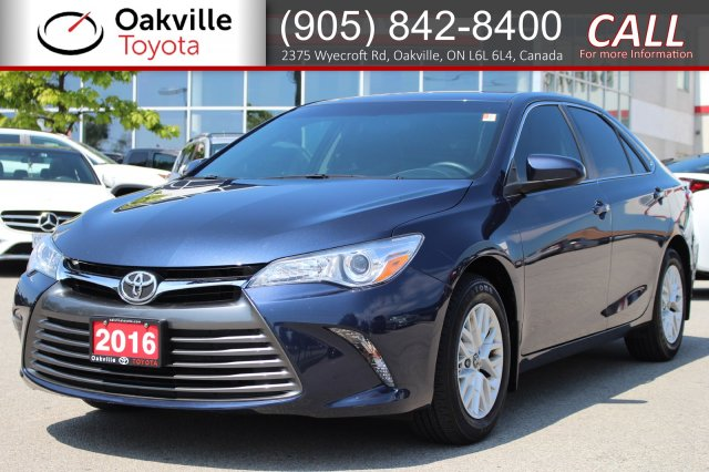 Pre-Owned 2016 Toyota Camry LE with One Owner