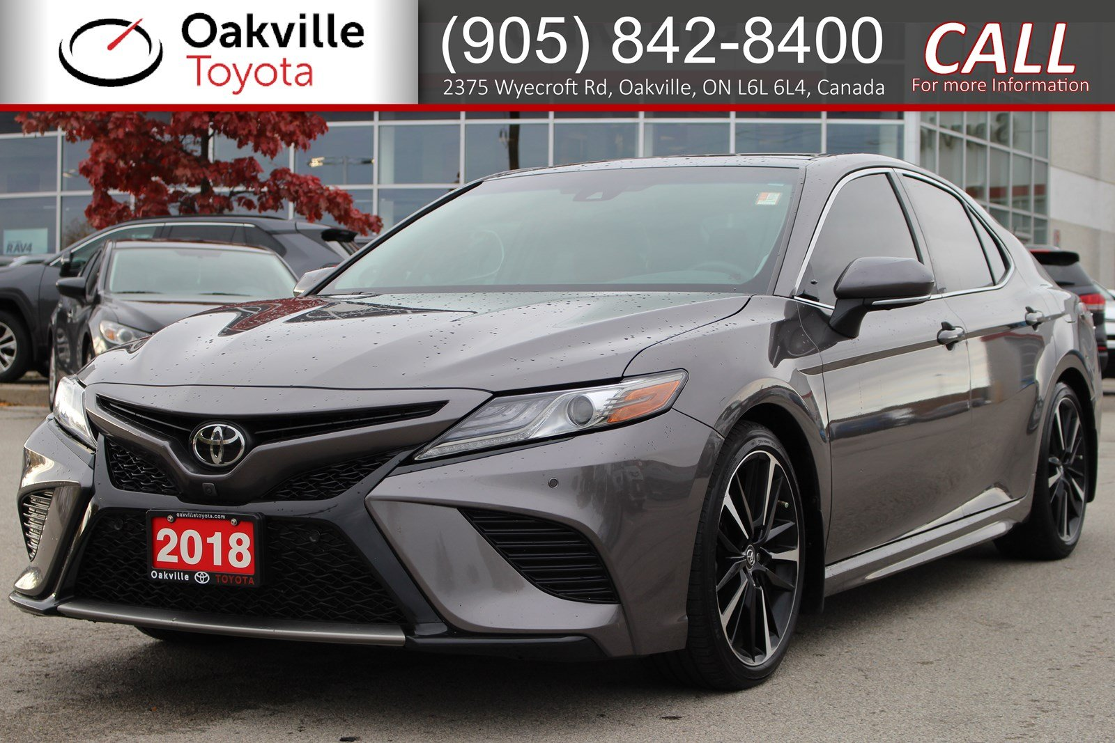 2018 Toyota Camry Xse V6 >> Pre Owned 2018 Toyota Camry Xse V6 With Clean Carfax And One Owner Fwd 4dr Car