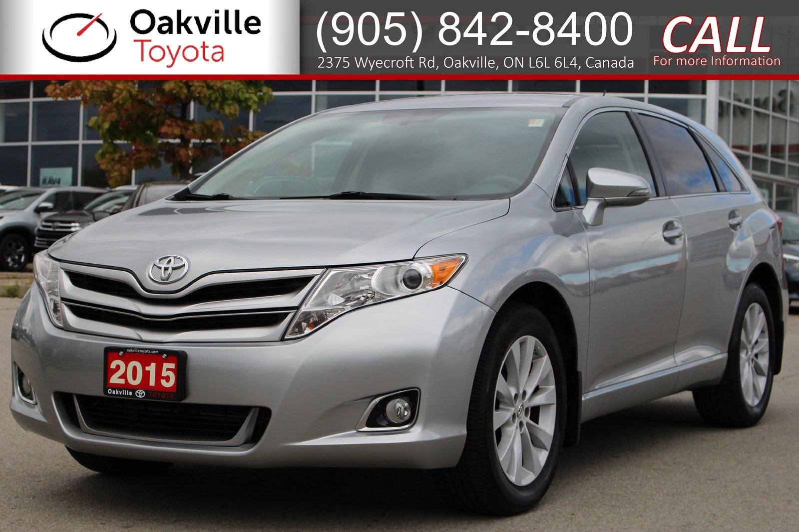 Pre-Owned 2015 Toyota Venza with Clean Carfax