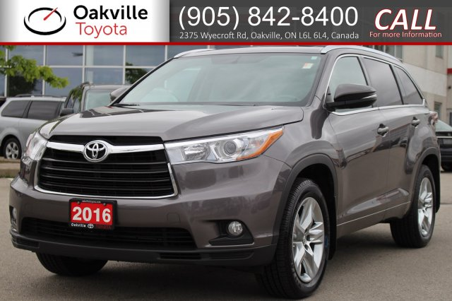 Pre-Owned 2016 Toyota Highlander Limited AWD with One Owner