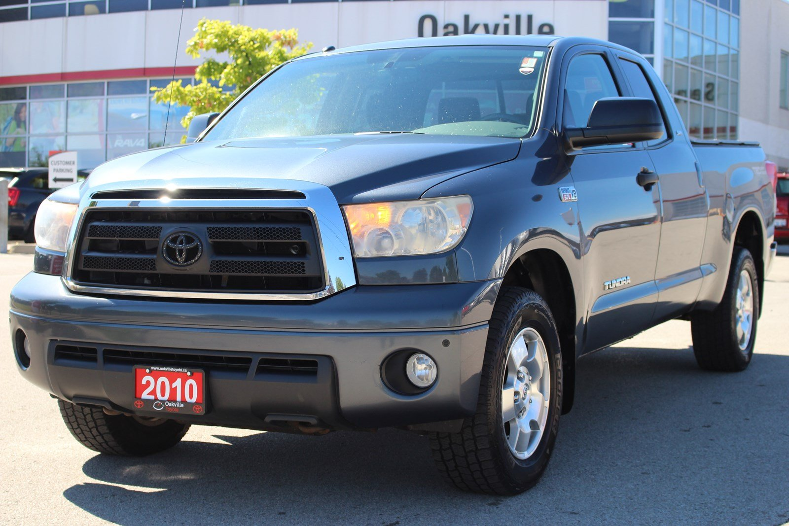 Pre-Owned 2010 Toyota Tundra SR5 with 5.7L Engine and Tow Capacity