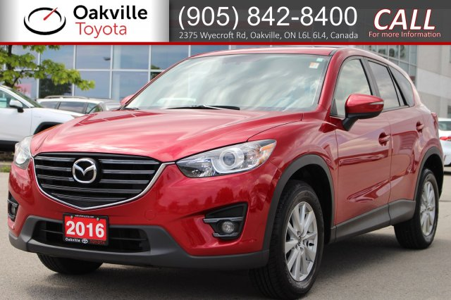 Pre-Owned 2016 Mazda CX-5 Touring with Low Kilometres, One Owner, and Clean Carfax