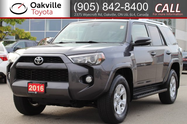 Pre-Owned 2016 Toyota 4Runner SR5 with Clean Carfax and One Owner