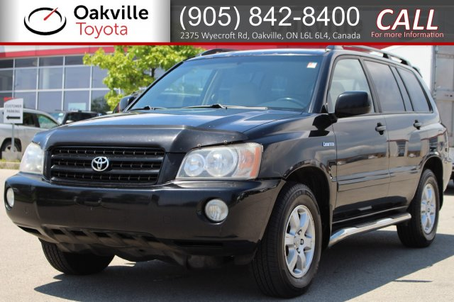 Pre-Owned 2001 Toyota Highlander 4WD with Clean Carfax | SELF CERTIFY