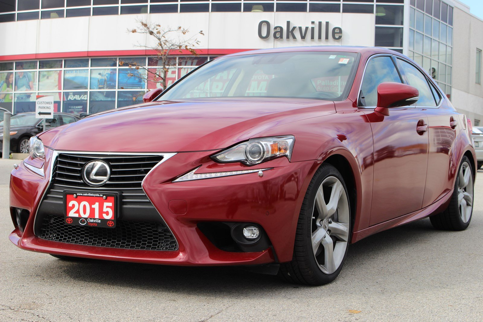 Pre-Owned 2015 Lexus IS 350 with Blind-Spot Monitor and Rearview Camera