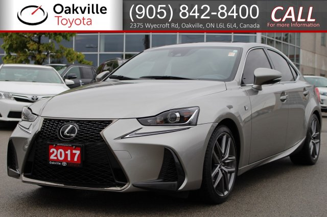 Pre-Owned 2017 Lexus IS 350 AWD with Remote Starter and One Owner