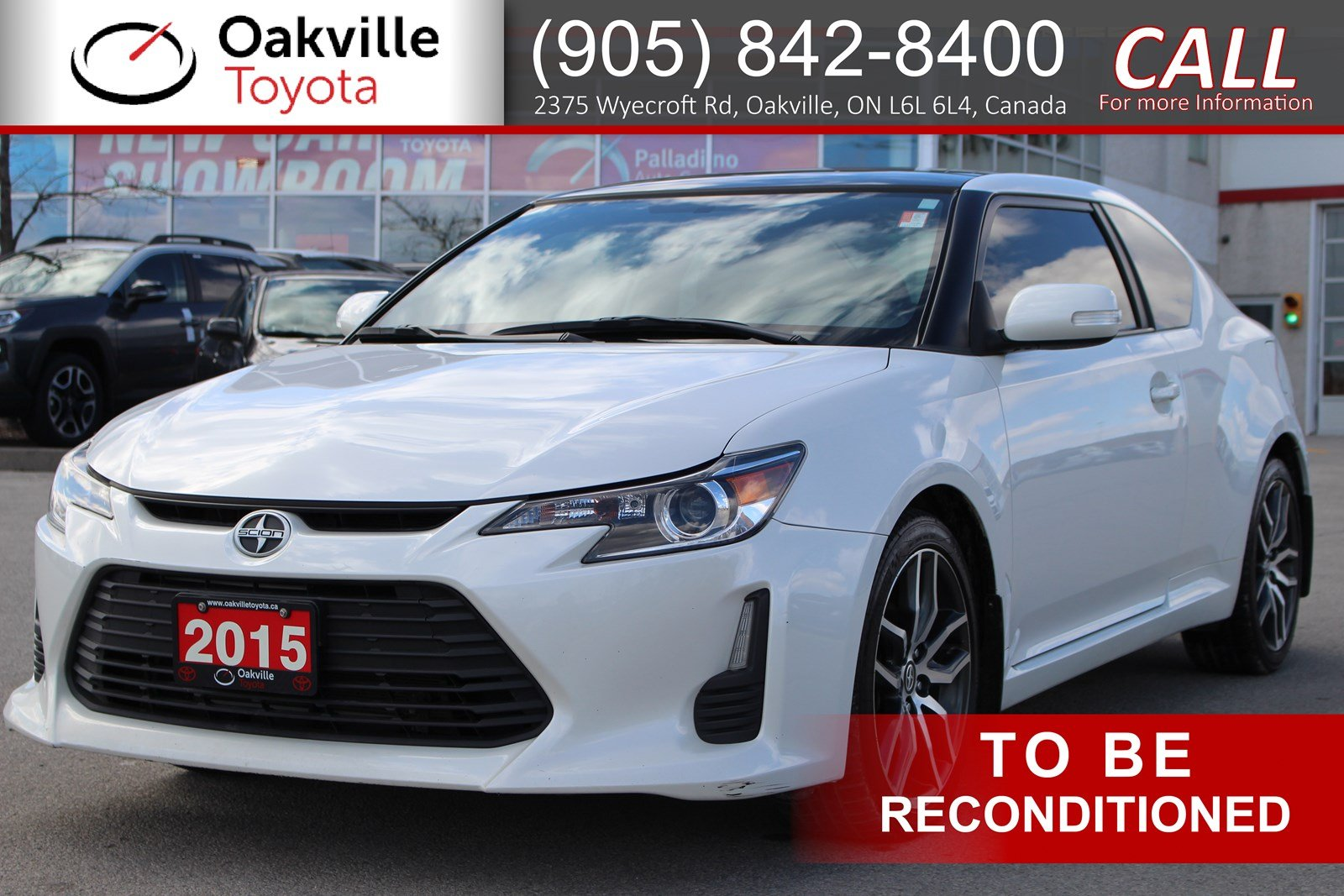 Pre-Owned 2015 Scion tC Recent Trade-in with Clean Carfax