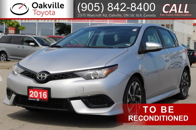 Pre Owned 2016 Scion Im With Clean Carfax And One Owner Hatchback In
