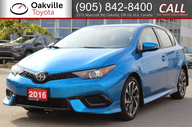 Certified Pre-Owned 2016 Scion iM with Clean Carfax and One Owner