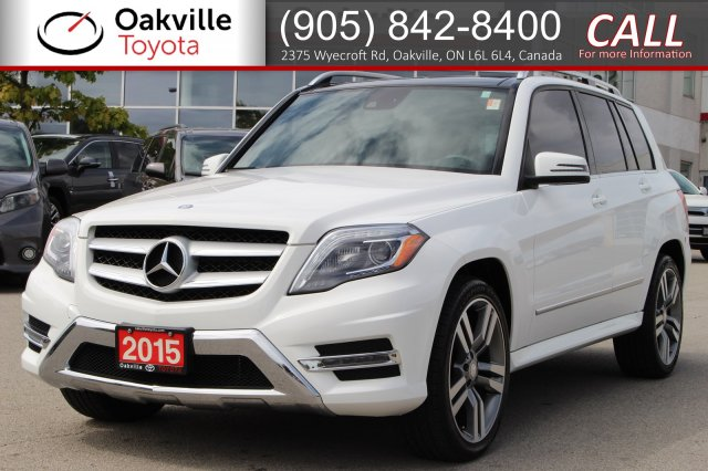 Pre-Owned 2015 Mercedes-Benz GLK 350 4MATIC with Clean Carfax and One Owner