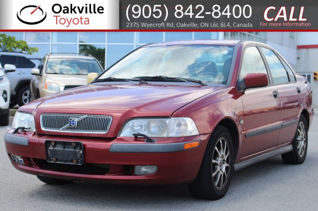 Pre-Owned 2001 Volvo S40 with Clean Carfax | SELF CERTIFY