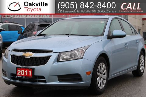 Pre-Owned 2011 Chevrolet Cruze LT Turbo w/1SA FWD 4dr Car