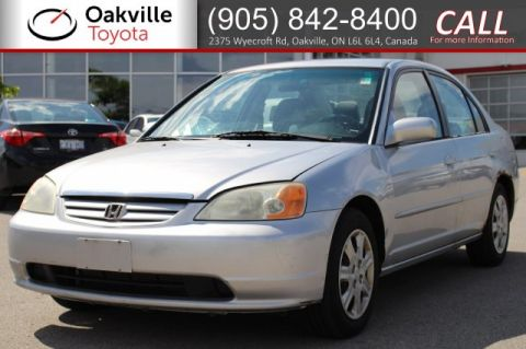 Pre-Owned 2003 Honda Civic Sdn LX | SELF CERTIFY