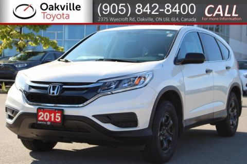 Pre-Owned 2015 Honda CR-V LX AWD with Clean Carfax