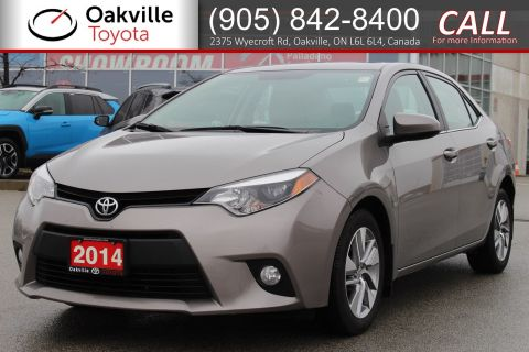 Pre-Owned 2014 Toyota Corolla LE ECO Upgrade Pkg with Clean Carfax FWD 4dr Car