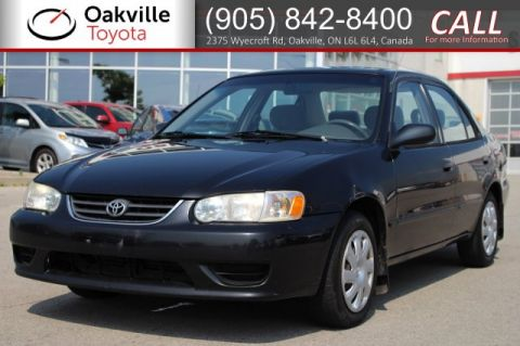Pre-Owned 2002 Toyota Corolla CE with One Owner | SELF CERTIFY