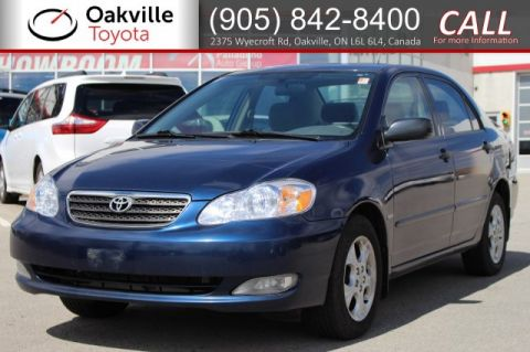 Pre-Owned 2008 Toyota Corolla LE with Sunroof, Alloy Wheels, and Spoiler