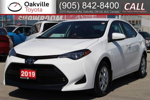 Certified Pre-Owned 2019 Toyota Corolla CE with Clean Carfax and Single Owner